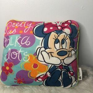 Disney Parks Minnie Mouse Accent Pillow